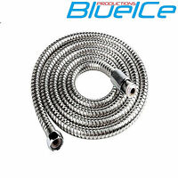 2.0m SHOWER BATH HOSE Flexible Stainless Steel Replacement Tube Pipe UK SELLER