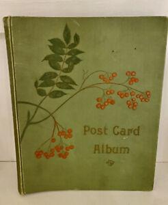 Antique Victorian/Edwardian Post Card Album For postcards empty album