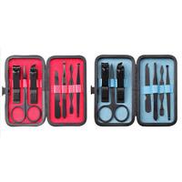 7Pcs/Set Nail Care Cutter Cuticle Clipper Manicure Pedicure Tool Kit Case Sale