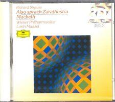 STRAUSS - Also Sprach Zarathustra / Macbeth - Lorin MAAZEL - DG NEW