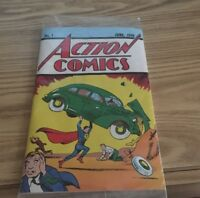 Number 1 Action Comic Superman reprint June 1938