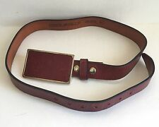 DSQUARED2 Genuine Leather Brown Belt Size L GUC
