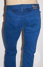 New Men's ROBIN'S JEAN sz 42 MARLON Straight Leg Pants Jeans -BLUE