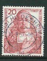Luxus BRD Mi-Nr. 253 zentrisch gestempelt - Vollstempel Hildesheim