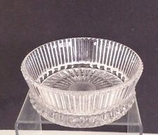1978 Avon Fostoria Lead Crystal Candy Dish Reps Only Premium