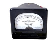 Vintage Triplett Direct Current Microamperes Meter Gauge 50 0 50 Model 327 T