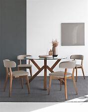 Calligaris Connubia Tisch MIKADO 4728-V120 Tischplatte klar in 4 Gestellfarben