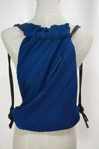 PLEATS PLEASE Blue Backpack ISSEY MIYAKE 216 2980