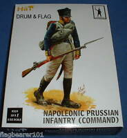 HAT 9319 - PRUSSIAN INFANTRY COMMAND. 1/32 SCALE X 18 FIGURES.