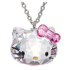 Hello Kitty Halskette aus österr. Kristall 100% geschliffen