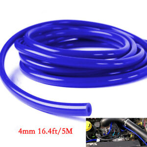 Car Engine 4mm Silicone Vacuum Tube Hose Silicon Tubing16.4ft 5M Kit Great