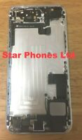 Genuine iphone 5S Back Rear Housing With Parts - White Silver- Grade AB