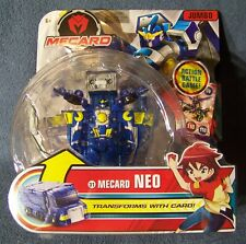 Mattel - Mecard Neo & EX Jumbo - Mecardimal Transforming Robots 1 of Each - MOC
