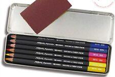 Caran D'ache Museum Aquarelle Soft Watercolour Pencil Set - Special 6 Colour Tin