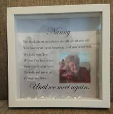Memorial photo frame, Remembrance frame, memorial gift, Personalised memorial