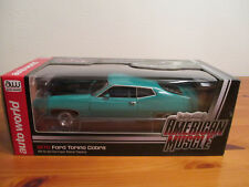 1:18 ERTL American Músculo 1970 Ford Torino Cobra nuevo emb. orig.