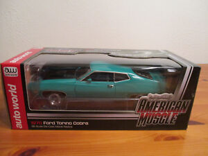 1:18 Ertl American Muscle 1970 Ford Torino Cobra New Boxed