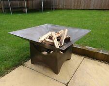 Steel fire pit ornamental