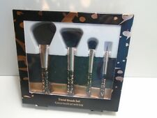 Travel Cosmetic Brush Set 4 Piece with Bag 8931