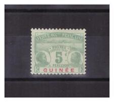 GUINEE . TAXE   N° 8 .  5  c     NEUF *   .TRES  BEAU .