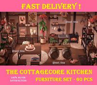 The Cottagecore Kitchen Furniture Set 60 Pcs FASTEST!!!