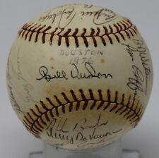 1976 Houston Astros Team Signed Baseball Nice Dierker Niekro Richard 26 Autos