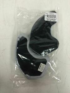 """New Schutt HSS Cloth Football Helmet Jaw Pads (Pair) 3/4"""" 144006790 QTY AVAILABL"""