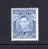 1937 KGVI ***MVLH*** 3d BLUE - DIE I (Ref 168) PRISTINE