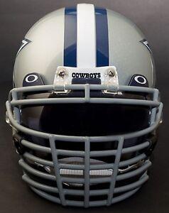 DALLAS COWBOYS NFL Schutt Super Pro BIG GRILL Football Helmet Facemask Faceguard