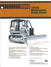 Equipment Brochure - Case - 1450B - Mechanical Angle Dozer - c1980 (E4140)