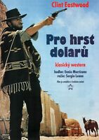 A FISTFUL OF DOLLARS Original RARE Czech A3 Movie Poster CLINT EASTWOOD 1964