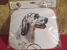 English Setter Blue ~ ~ Mouse Pad by Robert May