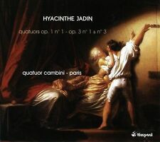 Jadin: 3 String Quartets: 1 Op1 & 3 No 3, New Music