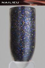 "Glitter Farb-Acryl Acryl-Pulver ""NAIL1EU Black G"" 7g/ Acrylpuder Acryl Powder"