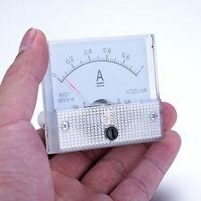 DC 0--1A 85C-1 GB/T7676-98 analog Ammeter Voltmeter Current Voltage Tester Meter