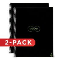 "Rocketbook Everlast Smart Notebook EVR-E-R,Executive (6""x 8.8"")​​​​​​​,  2 PACK"
