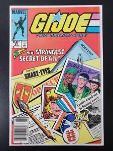 G.I Joe #26 (Marvel 1984) Origin Snake Eyes   Newsstand