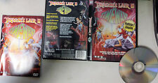 Dragons Lair 2: Time Warp (DVD, 2001, Playstation 2 Compatible)