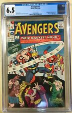 Avengers #7 (( CGC 6.5 )) OFF-WHITE/WHITE pages 8/1964 -- JACK KIRBY COVER --