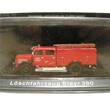1:72 Scale DeAgostini Steyr 380 Fire Appliance - FEUERWEHR - BNIP
