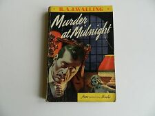 Murder at Midnight by R.A.J. Walling, Avon #16, Globe Endpapers 1941