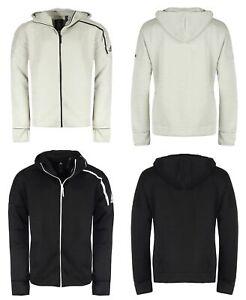 Adidas ZNE Hoodie Herren Jacke Kapuze Trainingsjacke Laufjacke grau schwarz 2XL