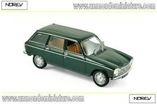 Peugeot 204 Break 1969 Antique Green NOREV - NO 472450 - Echelle 1/43
