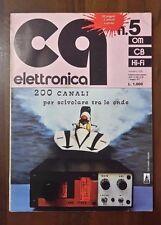 R26> CQ Elettronica Edizioni CD Bologna n.5 maggio 1977