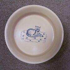 Pet Cat Kitten Pet Bowl Feeder Small Dish Fish Bone Tan