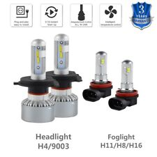 Headlight & Foglight For Suzuki Aerio 2002-2007 H4 H11 LED 9003 H16 Combo Bulbs