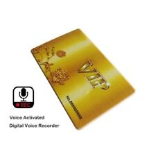 NEU Spy Versteckte Wanze Kreditkarte Mini Voice Recorder Geräuscherkennung A250