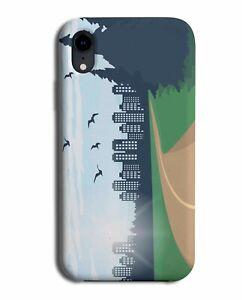 Skyscraper Silhouette Phone Case Cover Skyline High Rise Sky Scrapper City M391