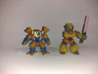 Hasbro Takara Battle Beasts Lot of 2 #46 Knight Owl #19 Prickly Porcupine READ