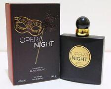 OPERA NIGHT Women Perfume Spray 3.4oz EDP Impression Of Black Opium MADE IN USA